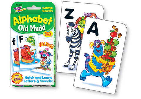 Alphabet Old Mudd Cards Game