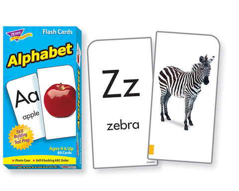 Alphabet Skill Drill Flash Cards - EducationalLearningGames.com