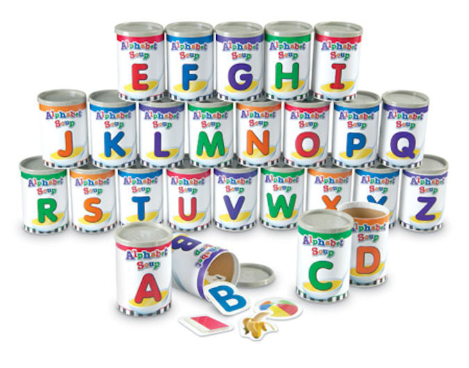 Alphabet Soup Sorters Game