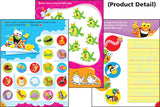 Alphabet Superstar Frog-tastic Wipe-Off Book - EducationalLearningGames.com