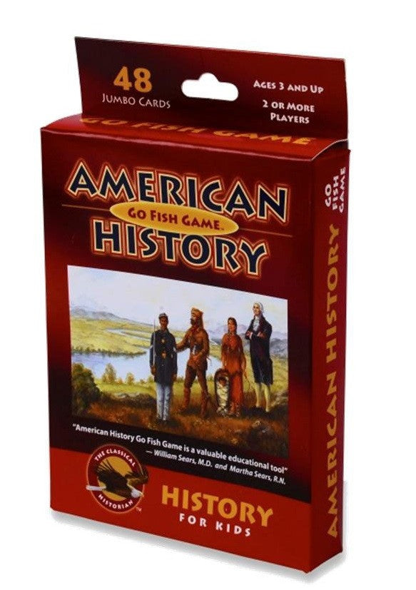 American History Go Fish Card Game