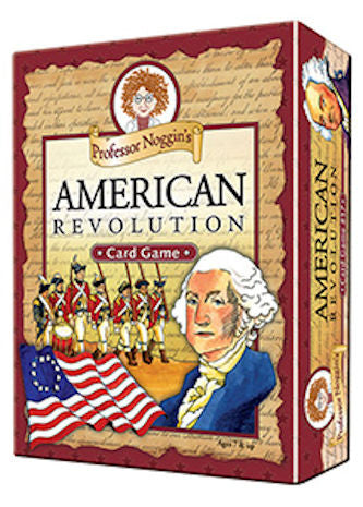 American Revolution Professor Noggin's Card Games - EducationalLearningGames.com