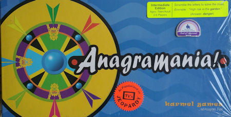 Anagramania, Intermediate Edition Game