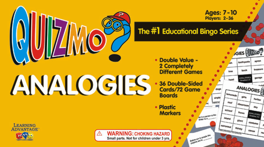 Analogies Quizmo Game