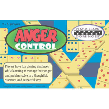 Anger Control Dominoes Game - EducationalLearningGames.com