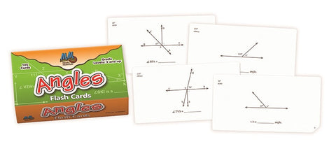 Angles Flash Cards