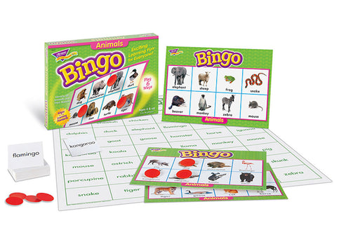 Animal Bingo Game EducationalLearningGames.com