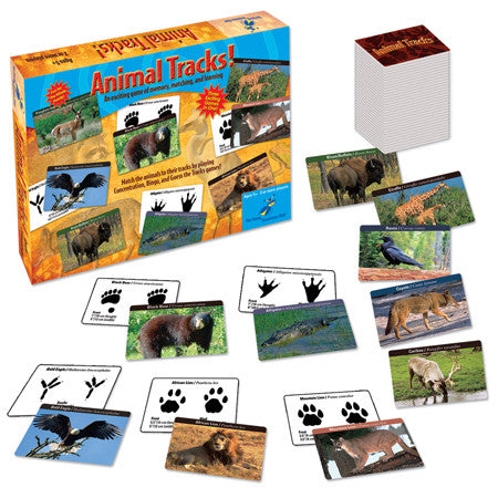 Animal Tracks Game - EducationalLearningGames.com