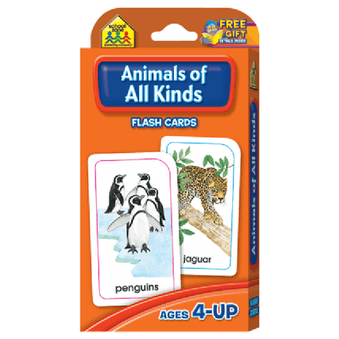 Animals of All Kinds Flash Cards - EducationalLearningGames.com