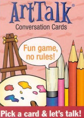 Arttalk Conversation Cards Art Talk - EducationalLearningGames.com