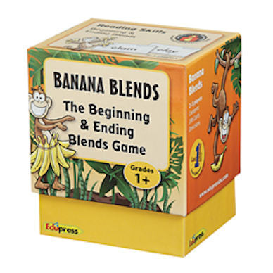 Banana Blends Beginning and Ending Blends Game - EducationalLearningGames.com