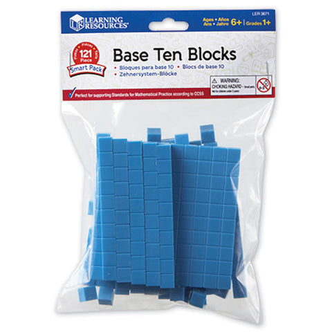 Base Ten Blocks Smart Pack