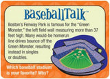 BaseballTalk Conversation Cards - EducationalLearningGames.com