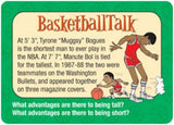 Basketballtalk Conversation Cards Basket Ball - EducationalLearningGames.com