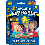 Bedtime Alphabet, Night-Time Learning, Interactive Flash Cards - EducationalLearningGames.com
