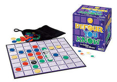 Befour You Know Game Ages 7+