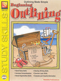 Beginning Outlining Workbook, Grades 3 - 4 EducationalLearningGames.com