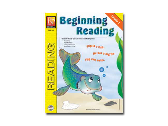 Beginning Reading, Grade 1 Workbook for Kids - EducationalLearningGames.com