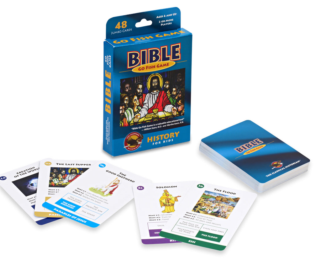 Bible Go Fish Card Game EducationalLearningGames.com