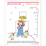 Bilingual 1-25 Dot-to-Dots Deluxe Edition Workbook - EducationalLearningGames.com