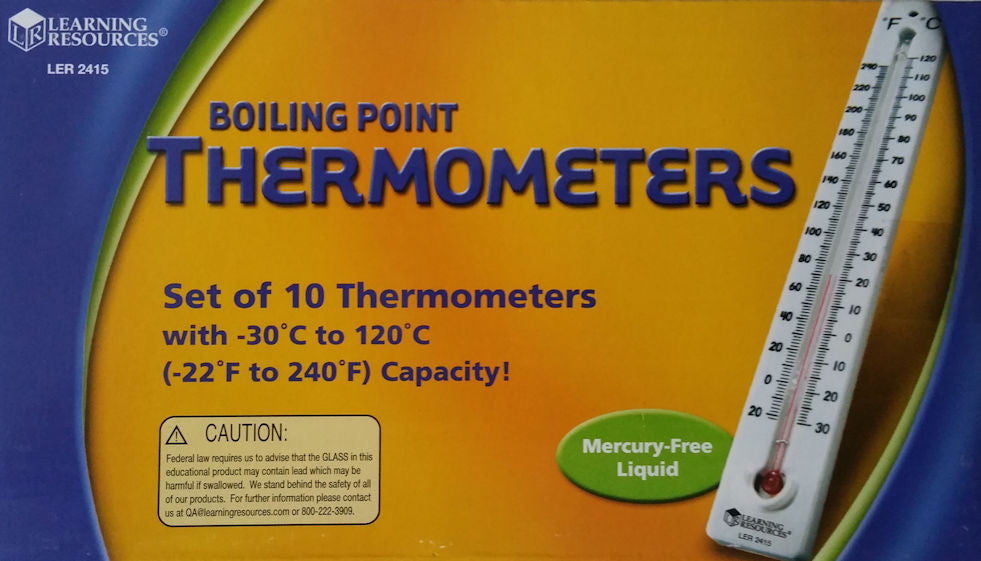 Boiling Point Thermometers, EducationalLearningGames.com
