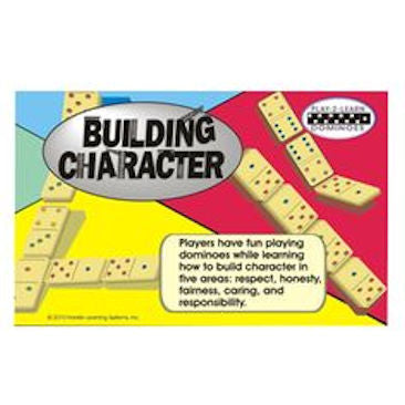 Building Character Dominoes Game - EducationalLearningGames.com