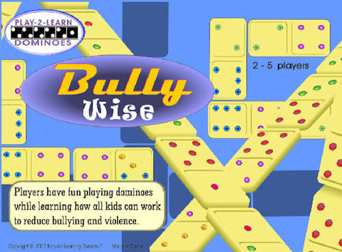 Bully Wise Dominoes Game - EducationalLearningGames.com