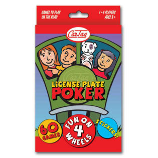 CarTag License Plate Poker Card Game