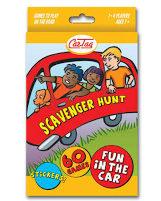 CarTag Scavenger Hunt Card Game