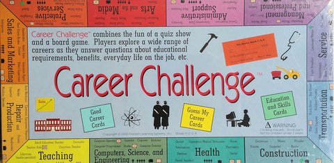 Career Challenge Game - EducationalLearningGames.com
