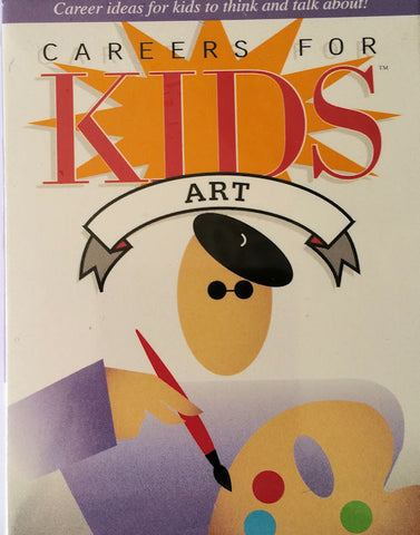 Careers for Kids ART Cards - EducationalLearningGames.com