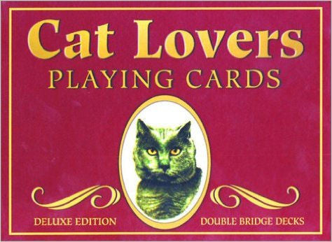 Cat Lovers Playing Cards - EducationalLearningGames.com