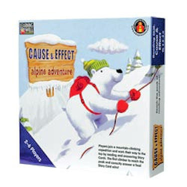 Cause & Effect Adventure Game, Blue Level - EducationalLearningGames.com