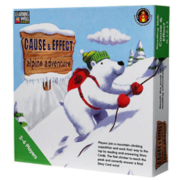 Cause and Effect Alpine Adventure Game, Green Level - EducationalLearningGames.com