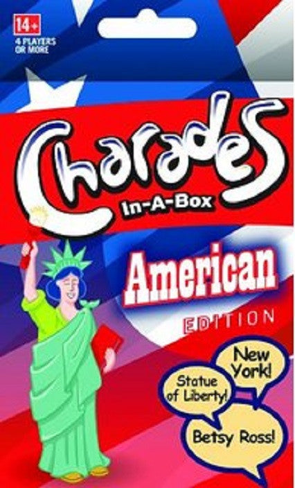 Charades In-a-Box American Edition