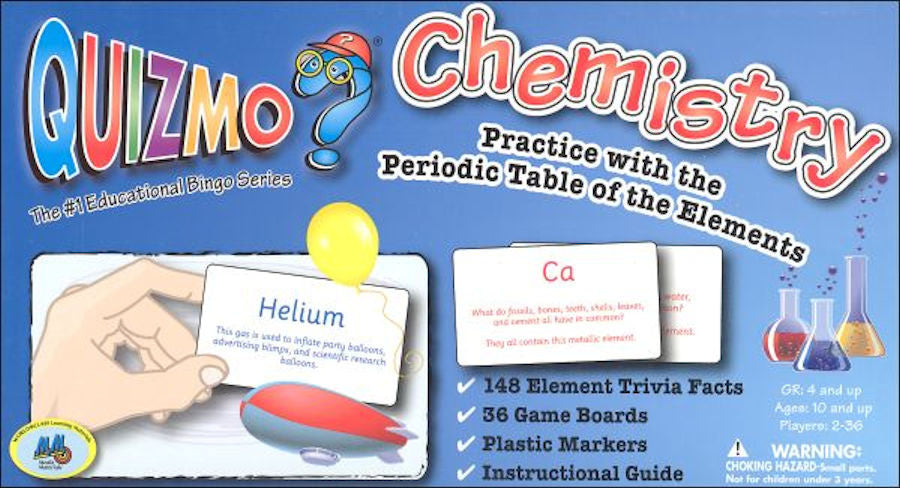 Chemistry Quizmo Game - EducationalLearningGames.com