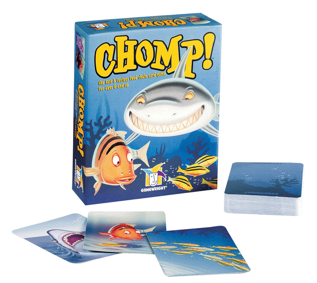 Chomp! The Fast and Furious Food Chain Card Game EducationalLearningGames.com