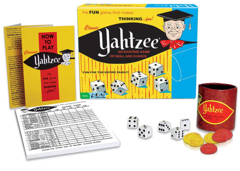 Classic Yahtzee Game EducationalLearningGames.com