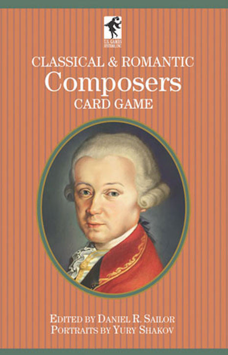 Classical and Romantic Composers Playing Cards Game - EducationalLearningGames.com