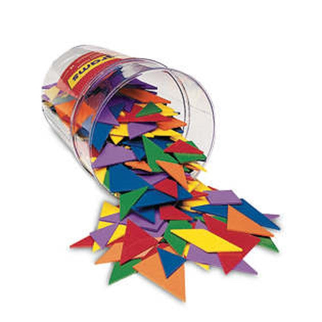 Tangrams Classroom Pack, Set of 30 Tangram 6 Colors