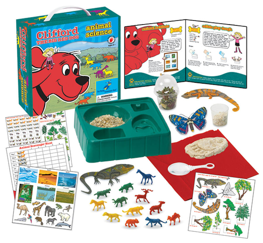 Clifford The Big Red Dog Animal Science Kit