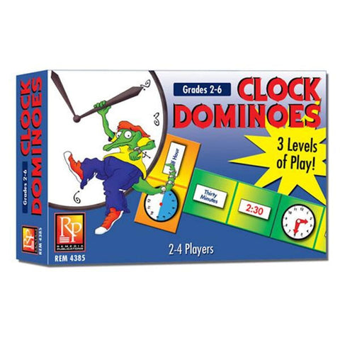 Clock Dominoes Game EducationalLearningGames.com