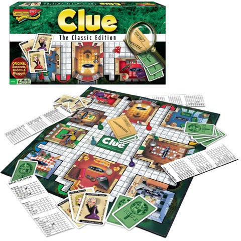 Clue Classic Edition Game - EducationalLearningGames.com