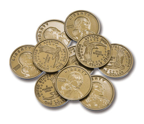 Coins Play Dollar Sacageweas Dollar, Set of 50