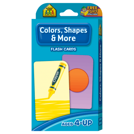 Colors, Shapes, and More Flash Cards - EducationalLearningGames.com