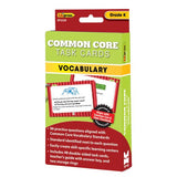 Common Core Vocabulary Task Cards, Kindergarten