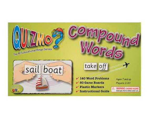 Compound Words Quizmo Game - EducationalLearningGames.com