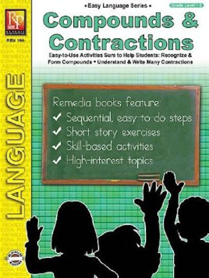 Compounds and Contractions Workbook - EducationalLearningGames.com