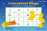 Conceptual Bingo Fractions Game - EducationalLearningGames.com
