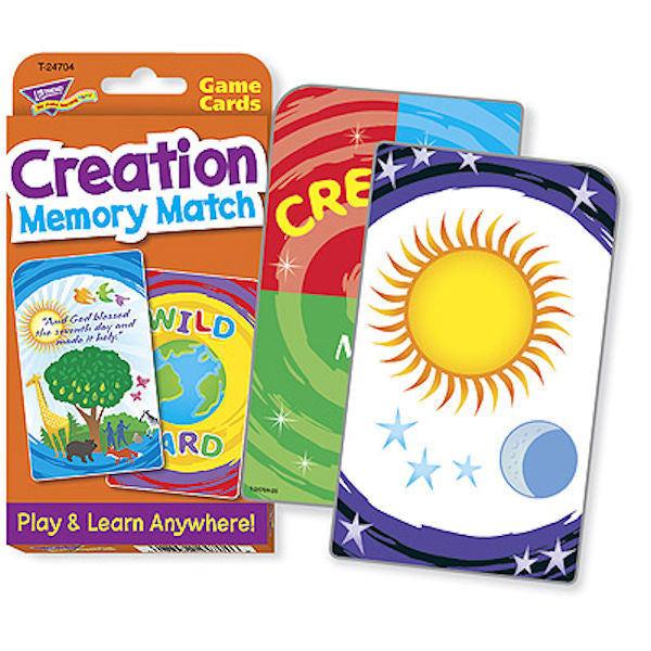 Creation Memory Match Challenge Card Game EducationalLearningGames.com